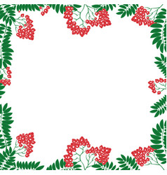 frame with floral ornament in the slavic national vector image vector image