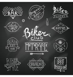 Riders label vector image