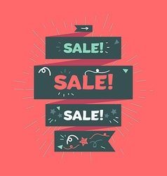Advertising Sale Banner vector image