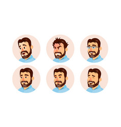 boss character business people avatar vector image