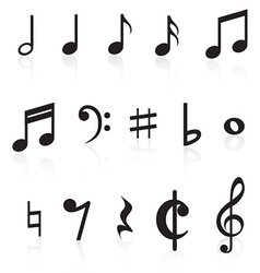 Music Notes Collection vector