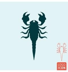 Scorpion icon isolated vector