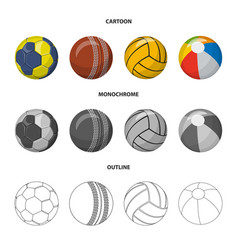 Sport and ball logo vector