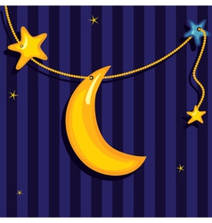 sweet dreams background vector image