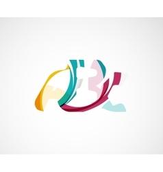 Abc company logo vector image