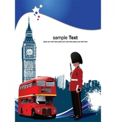 London images vector image