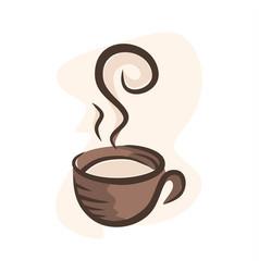 cofffe cup 2 vector image