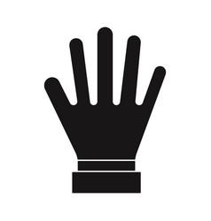 glove icon vector image