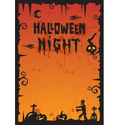 Halloween Background 2012 vector image