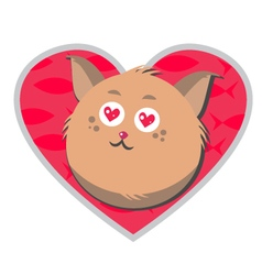 Love-the-cat vector