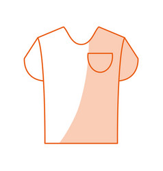 Monocromatic shirt design vector