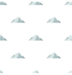 ice mountain covered with snowa mountain for vector image vector image