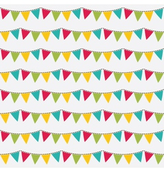 Seamless birthday pattern vector