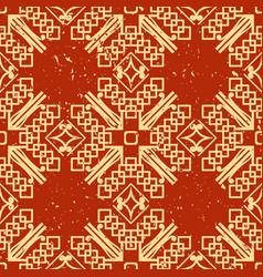art deco vintage pattern vector image