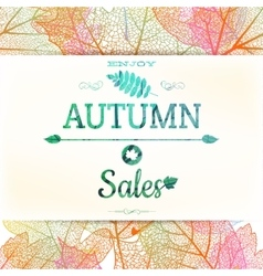 Autumn sale EPS 10 vector