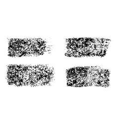 black paint ink brush stroke brush line vector image