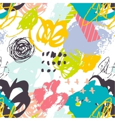 Creative hand drawn background pattern vector