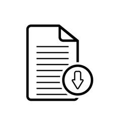 Document download app vector