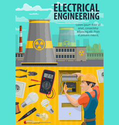 Electrical engineering and power plant vector