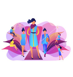 fashion week concept vector image