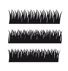 Grass design elements vector
