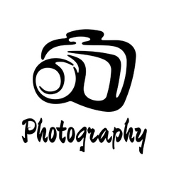 Sketch photography icon vector