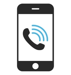 Smartphone Call Eps Icon vector image