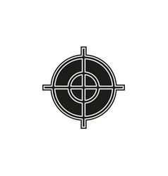 target goal icon target focus arrow marketing aim vector image