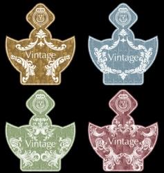wine labels36 vector image vector image