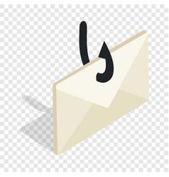 internet fishing isometric icon vector image