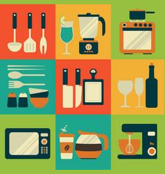 kitchenware equipment design vector image