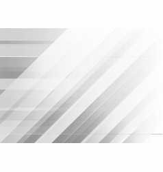 abstract geometric white and gray color background vector image