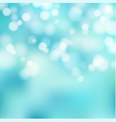 bokeh blue and white sparkling lights festive vector image