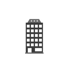 building hotel icon graphic download template vector image
