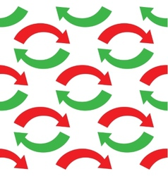 Curved arrows pattern vector