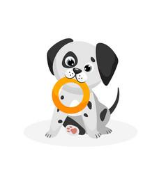 Dalmatian puppy vector