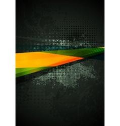 Grunge concept background vector image