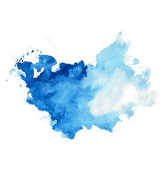Hand painted abstract watercolor texture vector