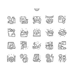 International unloading day well-crafted pixel vector
