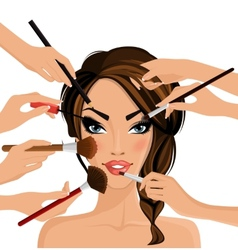 Make up concept vector