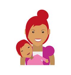 Mother motherhood babysitting vector