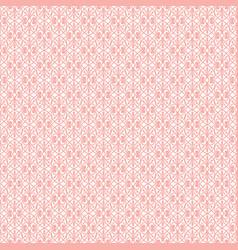 pink openwork pattern vector image