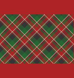 Plaid classic tartan seamless pattern vector