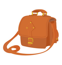 Postal bag icon cartoon style vector