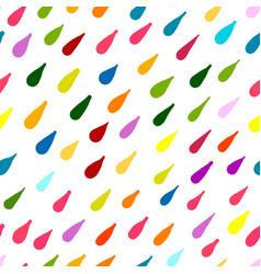 Rain seamless pattern for your design vector