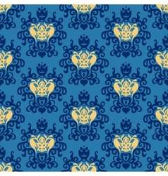 Damask Royal seamless patter vector image