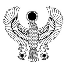 egyptian ancient symbol vector image