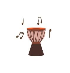 National Brazilian Drum vector image