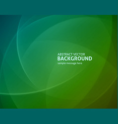 abstract green light lines modern background vector image