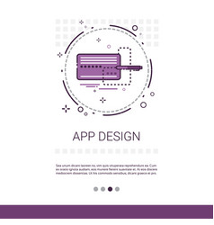 App design software development computer vector